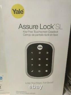 Toute Nouvelle Sécurité Yale Assurer Lock Sl Keyless Electronic Deadbolt Yrd256-nr-619