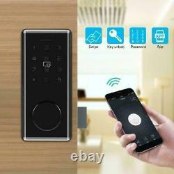 Ttlock App+password+rfid Card+key Unlock Smart Door Lock Keypad Télécommande