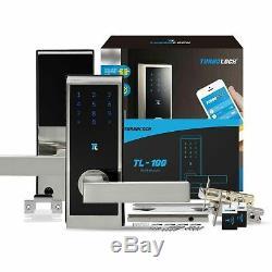 Turbolock Tl100 Intelligent Sans Clé Accueil Sécurité Électronique De Verrouillage De Porte Bluetooth