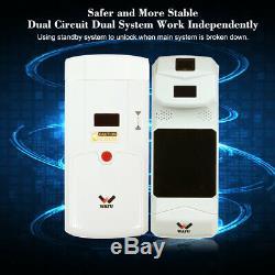 Ufoa Smart Wireless D'empreintes Digitales Invisible Verrouillage À Distance Sans Clé De Porte D'entrée Q6q8