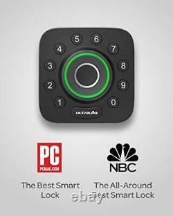 Ultraloq Smart Lock U-bolt Pro 6-en-1 Porte D'entrée Sans Clé Avec Bluetooth