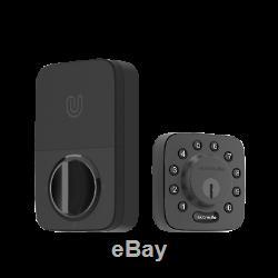 Ultraloq U-bolt Bluetooth Smart Sans Clé Clavier De Verrouillage De Porte À Pêne Dormant Noir