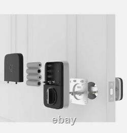 Ultraloq U-bolt Pro Wifi Bluetooth D'empreintes Digitales Sans Clé Intelligente De Verrouillage De Porte À Pêne Dormant