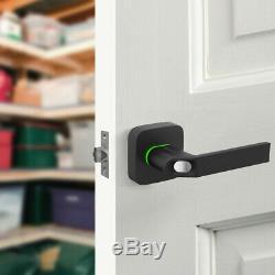 Ultraloq Ul1 Électronique Numérique D'empreintes Digitales Bluetooth Rfid Sans Clé Smart Lock