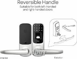 Ultraloq Ul3 Bt Bluetooth Fingerprint Et Écran Tactile Keyless Smart Door Lock