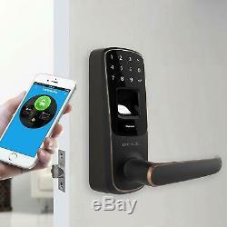 Ultraloq Ul3 Bt: Empreinte Digitale Et Bluetooth À Verrouillage Intelligent Avec Écran Tactile Sans Clé