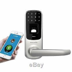 Ultraloq Ul3 Bt Empreinte Digitale Numérique Bluetooth Application De Verrouillage De Porte Intelligente Sans Clé