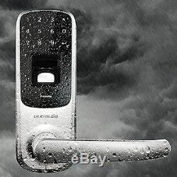 Ultraloq Ul3 Uul-ul3-sn Serrure De Porte Intelligente Sans Clé À Écran Tactile