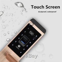 Universal 100 Groupes D'empreintes Digitales Intelligente De Verrouillage De Porte Mot De Passe Tactile 5 Way Sans Clé