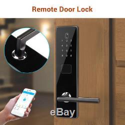 Verrouillage De Porte Bt-smart Mot De Passe Sans Clé Sécurité App Code Code Clavier Électronique Téléphone