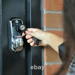 Verrouillage De Porte Intelligent À Écran Tactile Connecté Sans Clé Yale