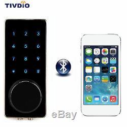 Verrouillage De Porte Intelligent Panneau De Verrouillage Sans Clé Bluetooth Surveillance App Accueil Entrée 200 Utilisateurs