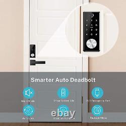 Verrouillage De Porte Sans Clé Tiffane Deadbolt, Verrouillage De Porte Avec Empreinte Digitale Biométrique, Smart