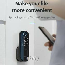 Verrouillage Électronique De Porte Touch Mot De Passe Keyless Smart Clavier Numérique #