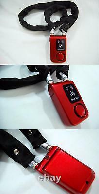 Verrouillage Intelligent Bluetooth Avec Alarme Vélo Moto Keyless Padlock App Control
