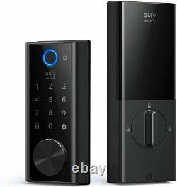 Verrouillage Intelligent Eufy Security Avec Scanner D'empreintes Digitales Tactiles, Serrure De Porte D'entrée Sans Clé