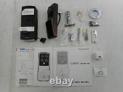 Verrouillage Pgd728wvb Secure Pro Dead Bolt Edition Bt Empreinte De Doigt Serrure Intelligente Sans Clé