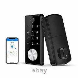 Verrouillage Ruveno Smart Fingerprint Avec Claviers, Verrouillage De Porte D'entrée Sans Clé, Électronique
