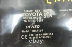 Verrouillage Sans Clé D'allumage Vol Smart Key Module Fits 16-18 Tacoma 8999004010