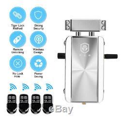Verrouillage Sans Clef Électronique Smart Lock Sans Fil Accueil Porte Antivol À Pêne Dormant U5j1