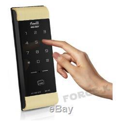 Verrouillage Sans Verrouillage Gateman Numérique De Verrouillage De Porte-wv 41 Smart Security Entry Pin + Rfid-gold
