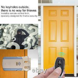 Wafu Smart Door Lock Wireless Remote Control Touch Déverrouillez Keyless Home Security