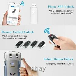 Wafu Wf-018 Télécommande Sans Fil Électronique De Verrouillage Sans Clé Intelligent De Verrouillage De Porte 4