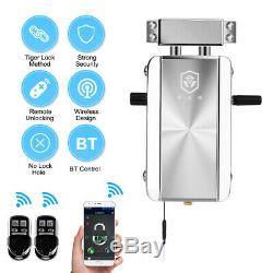 Wifi Bluetooth Intelligent De Verrouillage De Porte App Telecommande Sans Clé Antivol À Pêne Dormant S7a4