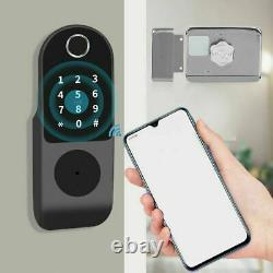 Wifi Smart Electronic Door Lock Fingerprint Touch Mot De Passe Keyless Keypad Access