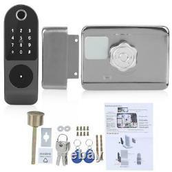 Wifi Smart Electronic Door Lock Fingerprint Touch Password Keyless Keypad Access