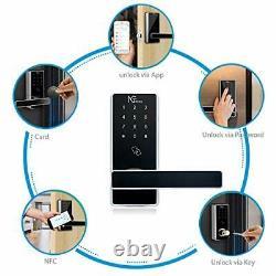 Wifi Smart Lock Keyless Entry Door Lock Digital Electronic Lock With Gateway