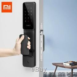 Xiaomi Mijia 6 Façons Push-pull Intelligent De Verrouillage De Porte Sans Clé D'empreintes Digitales Nfc One Step