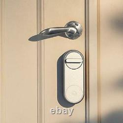 Yale 05/101200/si Linus Smart Lock Silver Keyless Et Serrure De Porte Sécurisée