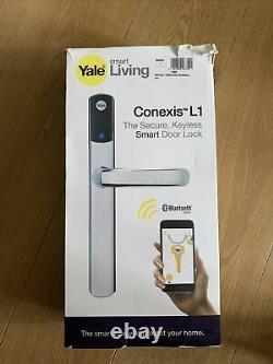 Yale Conexis L1 Keyless Bluetooth Smart Door Lock Dans Chrome Nouvelle Marque Scellée