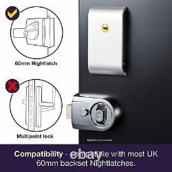 Yale Keyless Connected Smart Door Lock (chrome) Classe D'énergie A+