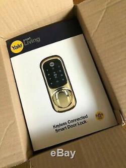 Yale Smart Living-01-yd-con Nomod-pb Sans Clé Connecté Intelligent De Verrouillage De Porte