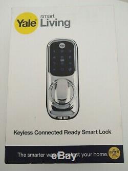 Yale Smart Living-01-yd-con-ch Nomod Sans Clé Connecté Prêt Intelligent De Verrouillage De Porte