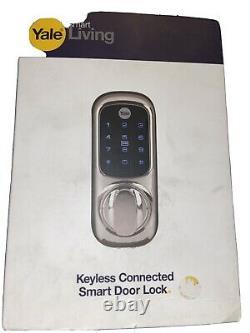 Yale Smart Living Keyless Connected Ready Smart Lock Flambant Neuf Dans La Boîte