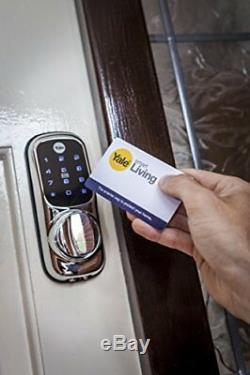 Yale Smart Living Serrure De Porte Intelligente Connectée Prête Sans Clé Yd-01-con-nomod-sn