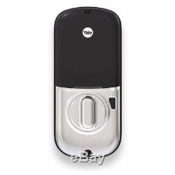 Yale Smart Lock Écran Tactile Assurez Clavier Brand New Nickel Amazon Key