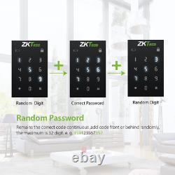 Zkteco Smart Door Lock Keyless Entry Door Lock Deadbolt With Keypad Fingerprint
